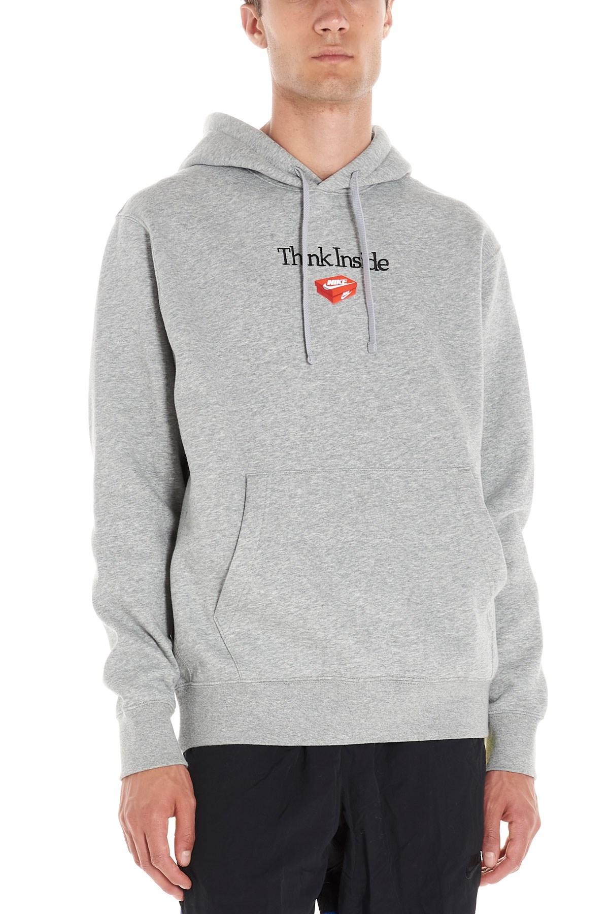 nike hoodie think inside