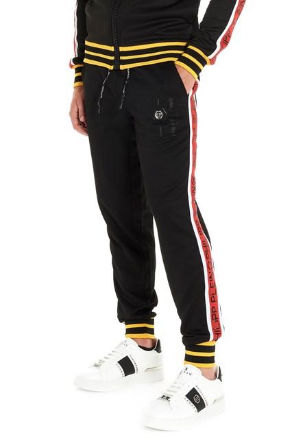 87589513cc1 PHILIPP PLEIN Logo sweatpants - COD. MJT1233PJO002N02