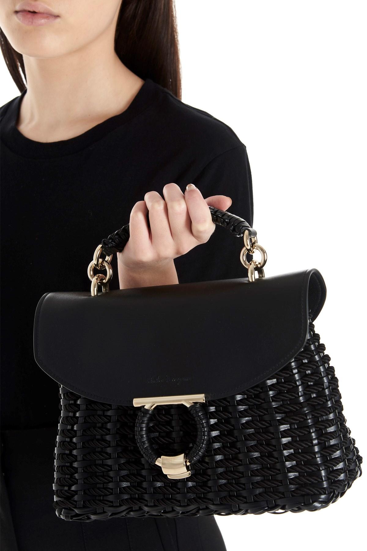 salvatore ferragamo 'Margot' hand bag available on www.julian ...