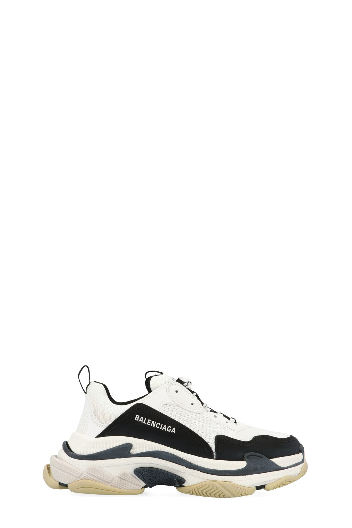 Balenciaga Triple S Air knit Mid Sock Black realkicks net