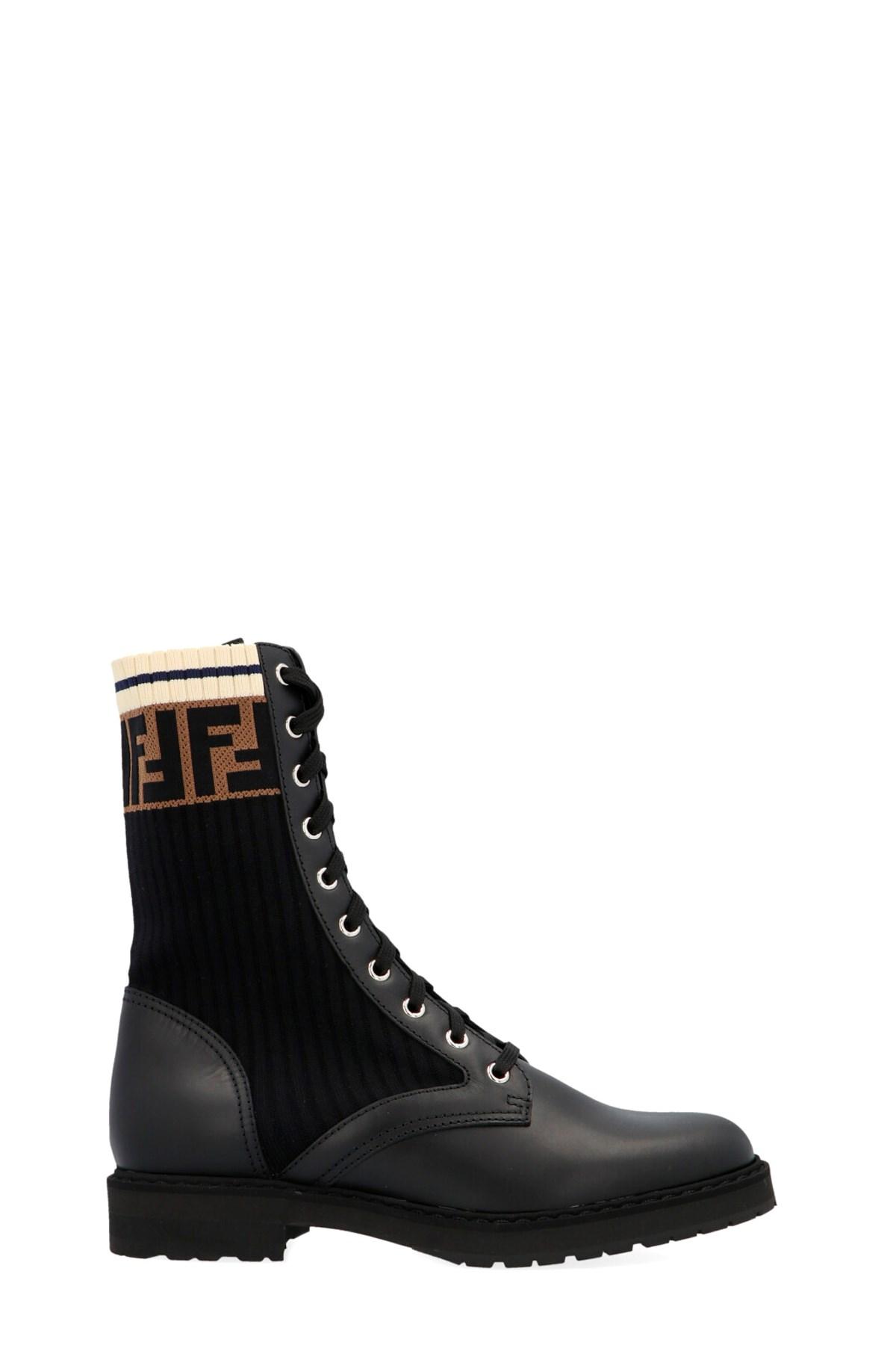 fendi 'Rockoko' combat boots available