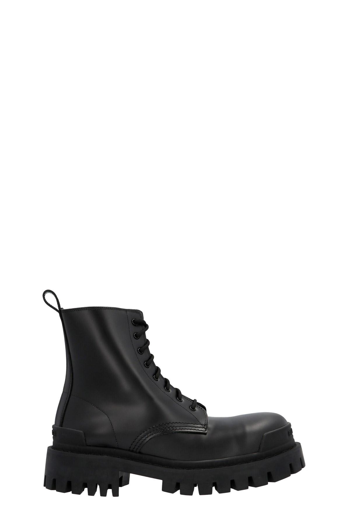 balenciaga 'Strike' combat boots