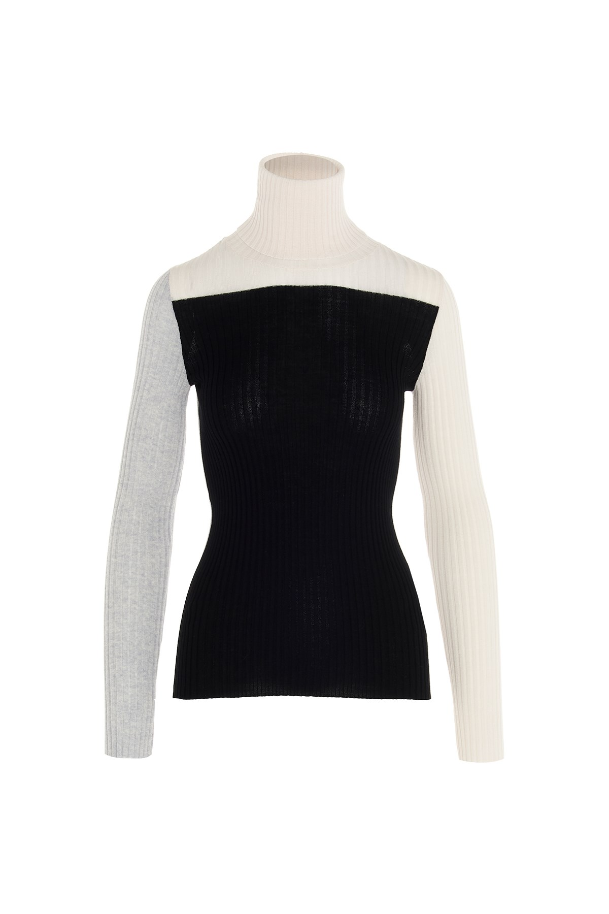 Nude Ribbed Wool Sweater Available On Www Julian Fashion Com 136983 Fr