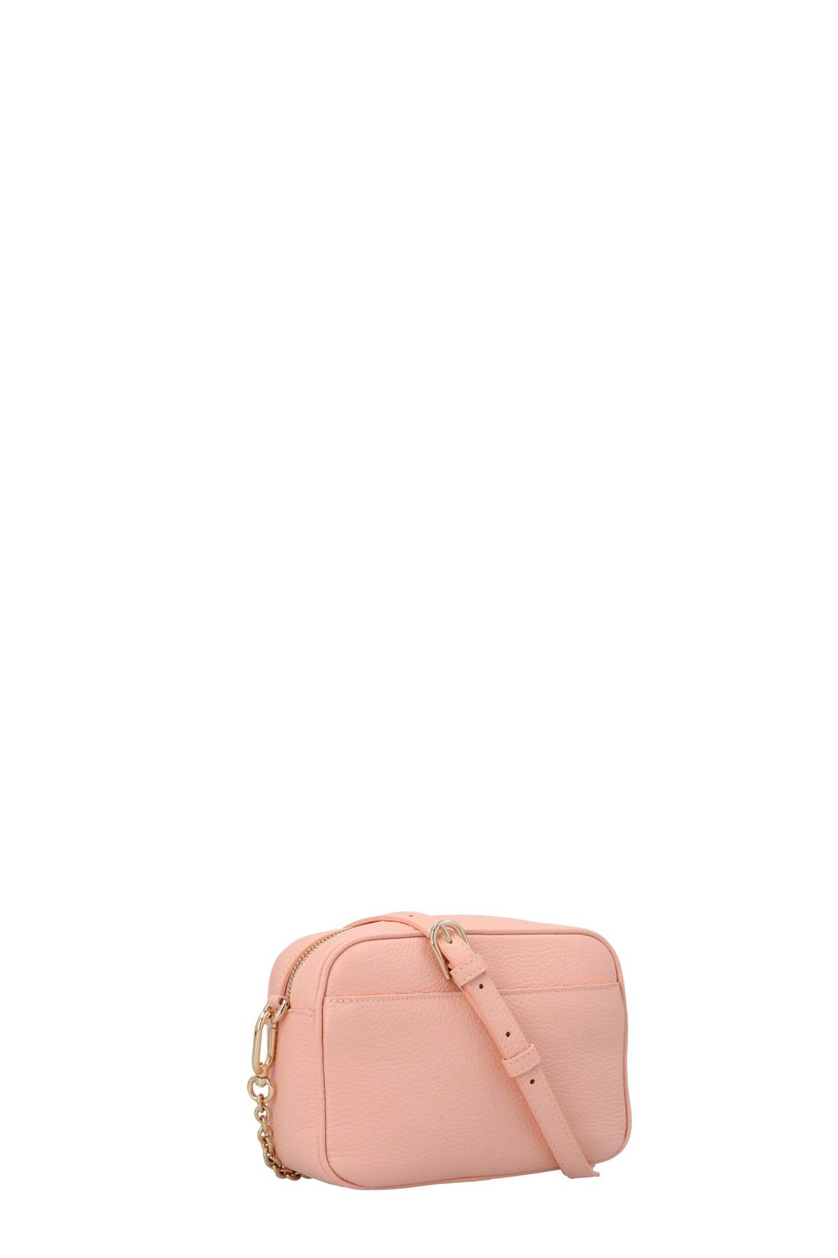 Furla Leather Real Mini Crossbody Bag in Black - Lyst