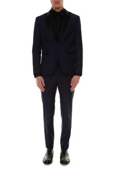 TONELLO Solid color wool tuxedo
