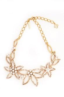 OSCAR DE LA RENTA 'Floral baguette' necklace