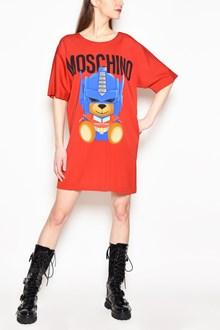 MOSCHINO 'Robot bear' dress