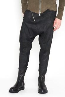 10SEI0OTTO Pantalone in pelle stretch con zip