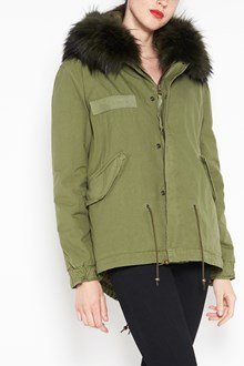 MR & MRS ITALY Army mini parka quilt inside lining