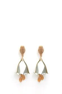 OSCAR DE LA RENTA 'Impatient flower' mini earrings