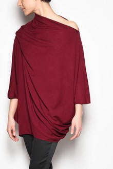 GIANLUCA CAPANNOLO 'Mia pull' 3/4 sleeves jersey with an open shoulder