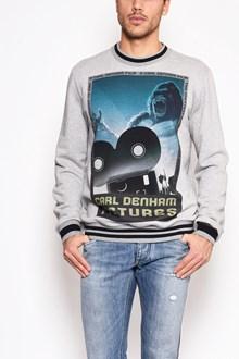 DOLCE & GABBANA 'King kong' printed crew-neck sweatshirt