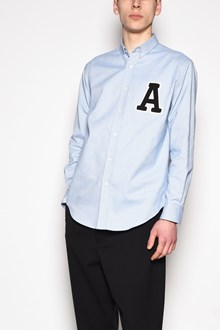 AMI ALEXANDRE MATTIUSSI Shirt with 'A' patch