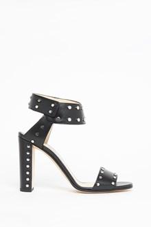 JIMMY CHOO Leather studded sandal