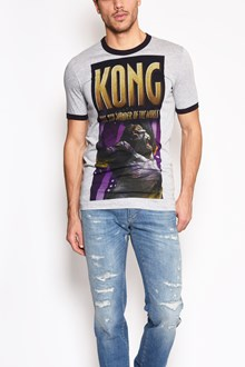 DOLCE & GABBANA 'King kong' printed cotton t-shirt