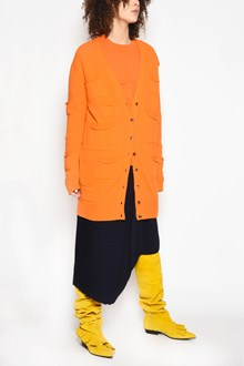 J.W.ANDERSON 'Multipockets' long V-neck cardigan with buttons