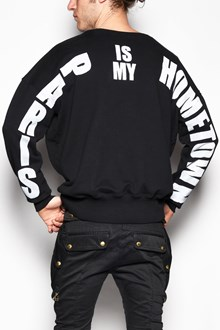 FAITH CONNEXION Crew-neck sweater with ' Paris is my hometown' print on back