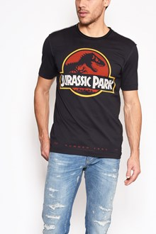 DOLCE & GABBANA 'Jurassic park' printed cotton t-shirt