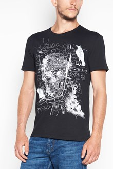 ALEXANDER MCQUEEN T-shirt con stampa teschio