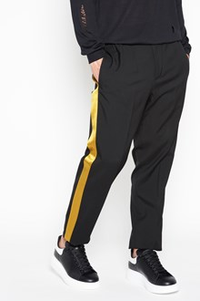 ALEXANDER MCQUEEN Satin band trousers