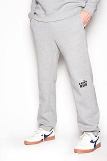 MSGM Pantaloni della tuta con stampa logo sul ginocchio