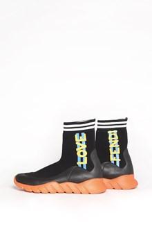 FENDI Socks sneakers with 'Fendi' print