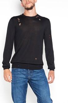 ALEXANDER MCQUEEN maglione strappi