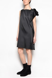 GIANLUCA CAPANNOLO 'Peggy' sleeveless stretch dress with bow on shoulder