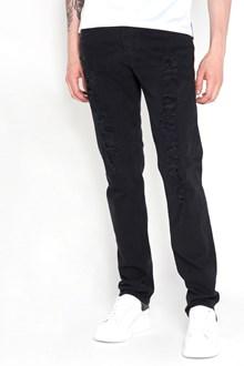 ALEXANDER MCQUEEN Jeans strappi