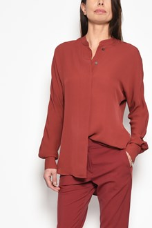 THEORY 'Perfect dolman' silk shirt