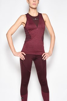 ADIDAS BY STELLA MCCARTNEY Top 'Train tank' in poliestere