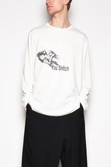 YOHJI YAMAMOTO 'Woman stitch' t-shirt