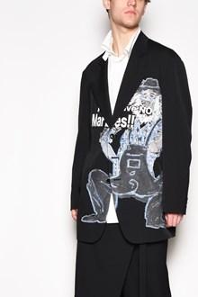 YOHJI YAMAMOTO Printed embroidered jacket