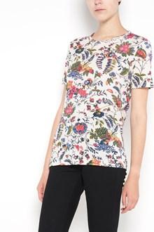 TORY BURCH 'Daya' T-shirt with 'Gabriella Floral' print