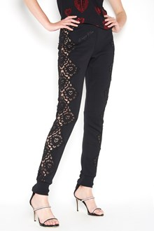 PHILIPP PLEIN Jogging trousers with lace