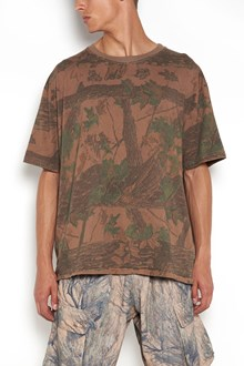 YEEZY regular t-shirt with camouflage print
