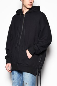 FAITH CONNEXION Oversize hooded hoodie with side laces