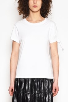 J.W.ANDERSON Cotton t-shirt with node in one sleeve