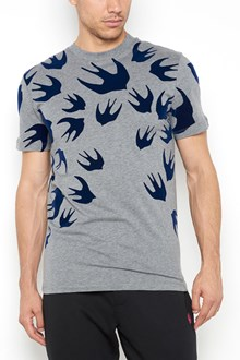 McQ ALEXANDER McQUEEN Cotton t-shirt with swallows