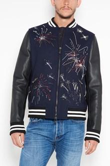VALENTINO 'fireworks' bomber jacket