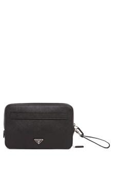 PRADA 'Travel leather clutch