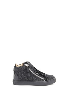 GIUSEPPE JUNIOR Leather high top sneaker