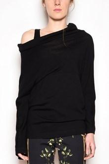 ALBERTA FERRETTI Asymmetrical wool sweater