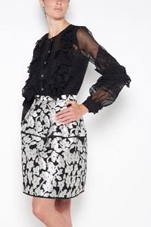 OSCAR DE LA RENTA lace details blouse