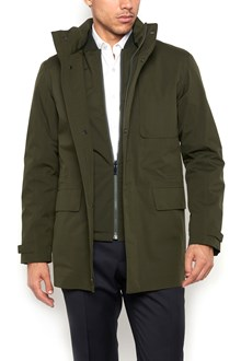 Z ZEGNA casual jacket double function,padded jacket inside and detachable hood