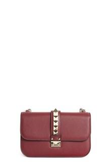 VALENTINO GARAVANI 'Lock' medium studded leather shoulder bag