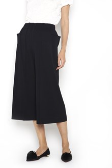 ISSEY MIYAKE CAULIFLOWER pleated cropped wide trousers