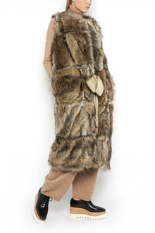 STELLA MCCARTNEY Fur long vest