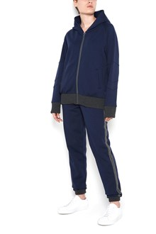 JO NO FUI jogging pants with glittered stripes on each side