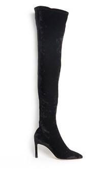 JIMMY CHOO 'Crash stretch velvet' velvet boots